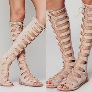Free People x Jeffrey Campbell Gladiator Sandals